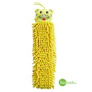 Kids Hand Towel Yellow Tiger